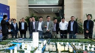 常州市创业投资苹果下载LOVEBET组织参访新龙商务区